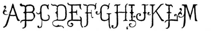 Hurstmonceux Font UPPERCASE