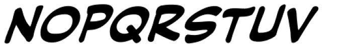Hush Hush Bold Italic Font LOWERCASE