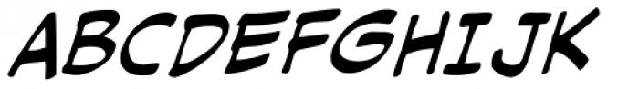Hush Hush Italic Font UPPERCASE