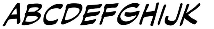 Hush Hush Italic Font LOWERCASE