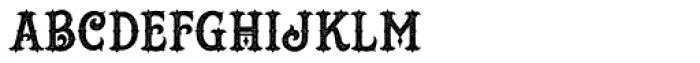 Hustlers Rough Font UPPERCASE