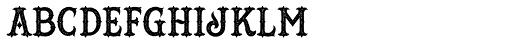Hustlers Rough Font LOWERCASE