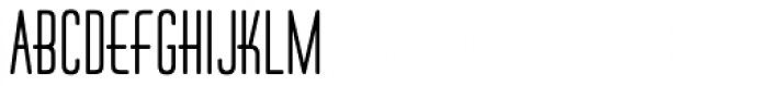 Huxley Vert ICG Alt Bold Font UPPERCASE