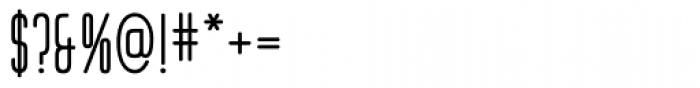 Huxley Vert ICG Bold Font OTHER CHARS