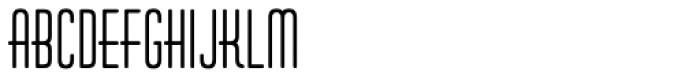 Huxley Vert ICG Bold Font UPPERCASE