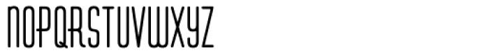 Huxley Vert ICG Bold Font LOWERCASE