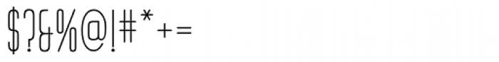 Huxley Vert ICG Font OTHER CHARS