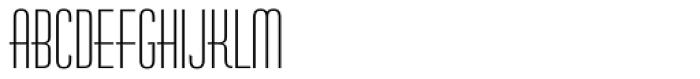 Huxley Vertical Font LOWERCASE