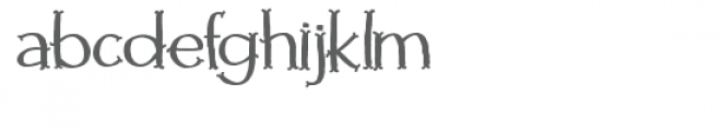 huckleberry font Font LOWERCASE