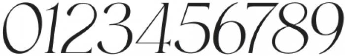 HV Muse Italic otf (400) Font OTHER CHARS
