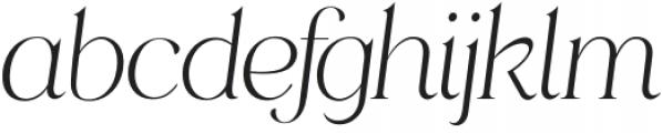 HV Muse Italic otf (400) Font LOWERCASE