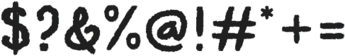 HV Pinewood otf (400) Font OTHER CHARS