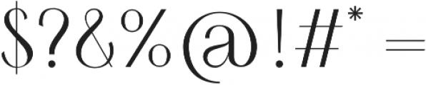 HV Simplicite Alternative Regular otf (400) Font OTHER CHARS