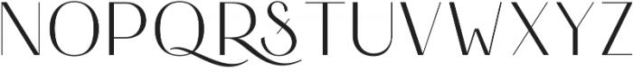 HV Simplicite Alternative Regular otf (400) Font UPPERCASE