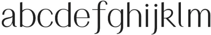 HV Simplicite Alternative Regular otf (400) Font LOWERCASE