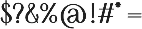 HV Simplicite otf (400) Font OTHER CHARS