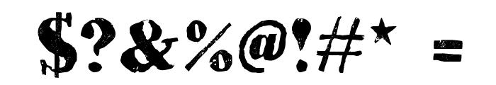 HVD Bodedo Font OTHER CHARS