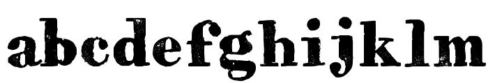HVD Bodedo Font LOWERCASE