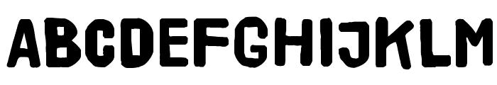 HVD Poster Clean Font UPPERCASE