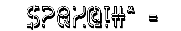 HVD Spencils Block Font OTHER CHARS