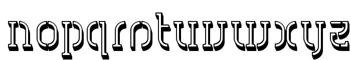 HVD Spencils Block Font LOWERCASE