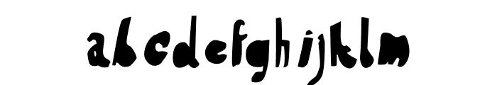 HVDSteinzeit-FillIn Font LOWERCASE