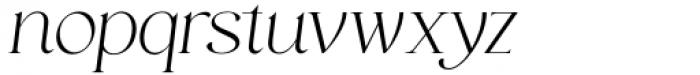 HV Muse Italic Font LOWERCASE