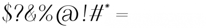 HV Simplicité Alternative Italic Font OTHER CHARS