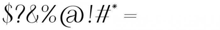 HV Simplicité Italic Font OTHER CHARS