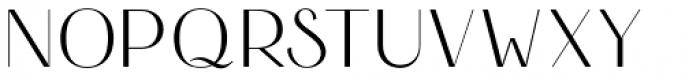 HV Simplicité Regular Font UPPERCASE