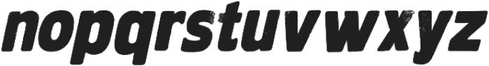 HWDP otf (400) Font LOWERCASE