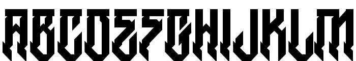 HWitches-Regular Font UPPERCASE