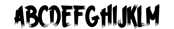 HWizardTaint-Regular Font LOWERCASE
