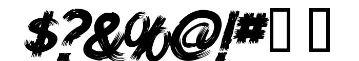 HWizardTit-Italic Font OTHER CHARS