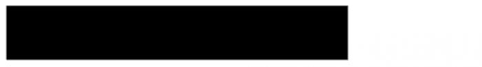 HWT Aetna Streamer Banner Font OTHER CHARS