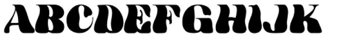 HWT Arabesque Font UPPERCASE