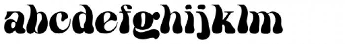 HWT Arabesque Font LOWERCASE