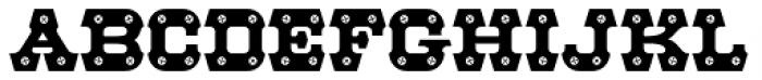 HWT Archimedes Phillips Font UPPERCASE