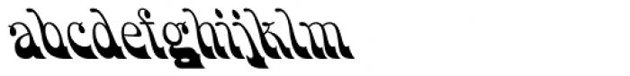 HWT Bulletin Script Two Font LOWERCASE