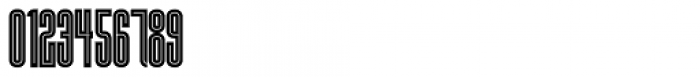 HWT Lustig Elements Inline Font OTHER CHARS