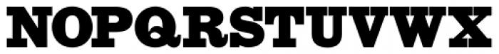 HWT Slab Antique Font UPPERCASE