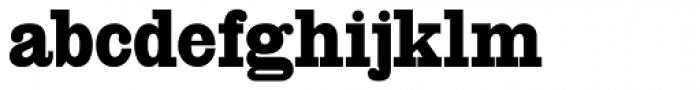 HWT Slab Antique Font LOWERCASE