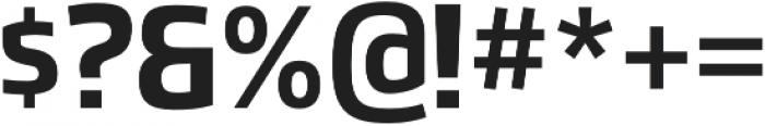 Hybrea Bold otf (700) Font OTHER CHARS