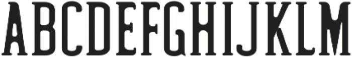 Hyman Round otf (400) Font UPPERCASE