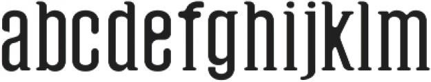 Hyman Round otf (400) Font LOWERCASE