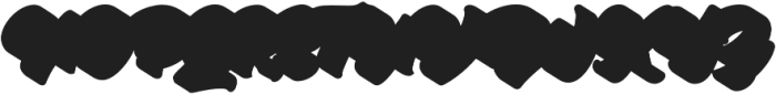 Hypebeast extrude shadow otf (400) Font UPPERCASE