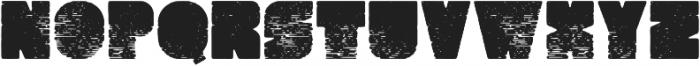 Hyperion Regular otf (400) Font UPPERCASE