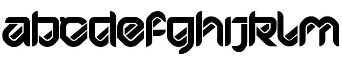 HYPD BD Bardust Remix Font UPPERCASE