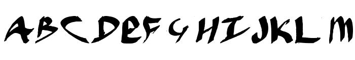 Hybride-Between Font LOWERCASE