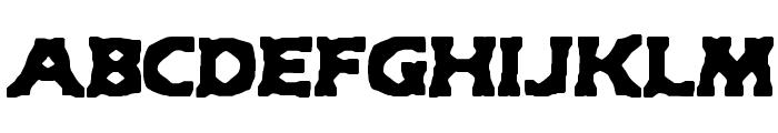 Hyde BRK Font UPPERCASE